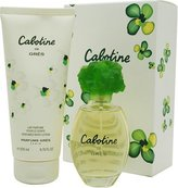 Parfums Gres Cabotine by Gres Eau de Toilette Spray 100ml & Body Lotion 200ml