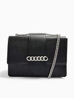 Topshop Samba Shoulder Bag - Black