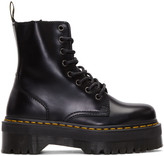 Dr. Martens Black Eight-Eye Jadon Boots