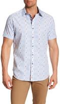 Robert Graham Sierra Madre Classic Fit Short Sleeve Shirt