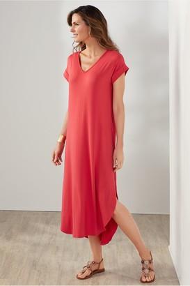 Soft Surroundings So Easy Knit Dress