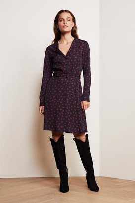Fabienne Chapot - Tess Dress Black Parrot Purple - 36