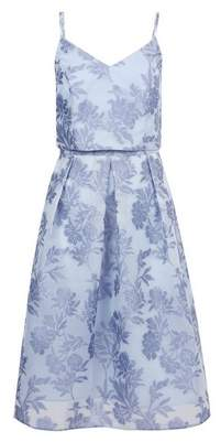Dorothy Perkins Womens **Luxe Blue Organza Prom Dress, Blue