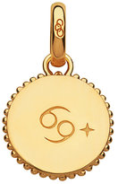 Links of London 18ct Yellow Gold Vermeil Cancer Charm