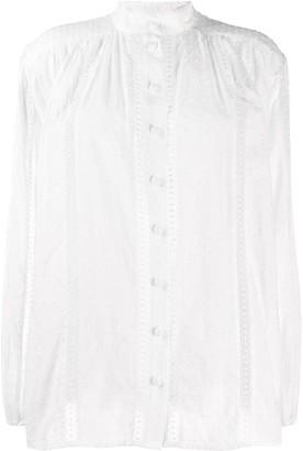 Zimmermann Suraya lace insert blouse