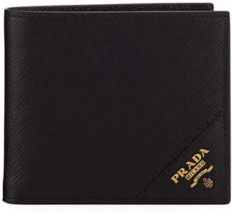 Prada Men's Saffiano Leather Wallet