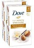 Dove Beauty Bar - Shea Butter with Warm Vanilla - 4 oz - 6 ct - 2 pk