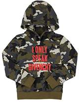 Givenchy Camouflage Cotton-Blend Hoodie