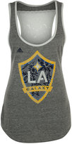 adidas Women's LA Galaxy Peal Logo Tank Top
