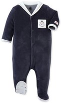 Petit Bateau Baby boys pajamas with sailor collar