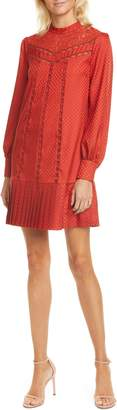 Ted Baker Lace Inset Long Sleeve Dress
