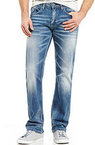 Buffalo David Bitton Six-X Handsanded Slim-Fit Jeans