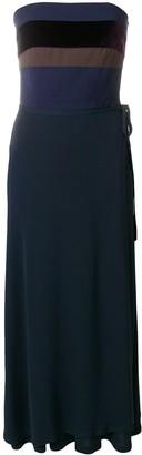 Jean Paul Gaultier Pre Owned bustier wrap skirt dress