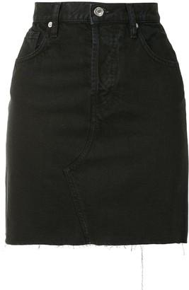 IRO High-Waist Denim Skirt