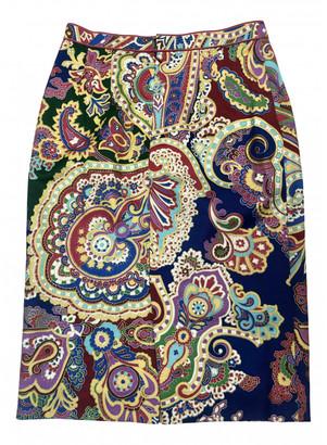 Leonard Multicolour Wool Skirts