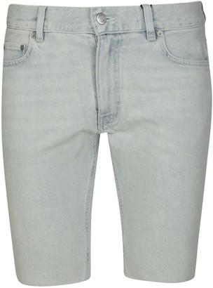 Tommy Hilfiger Slim Bleach Wash Denim Shorts
