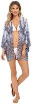 Nanette Lepore Paros Paisley Kimono Cover-Up
