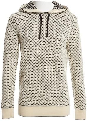 Celine Ecru Wool Knitwear for Women