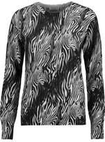 Equipment Sloane Instarsia-Knit Cashmere Sweater