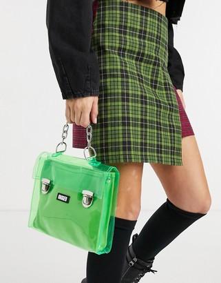 The Ragged Priest mini satchel in vinyl