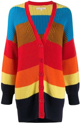 Chinti and Parker Striped Knit Cardigan