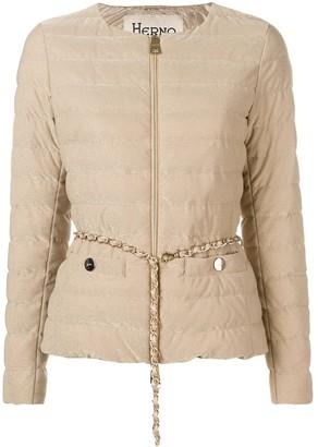 Herno Belted Padded Jacket