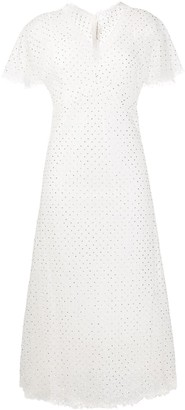 Ermanno Scervino Embellished Midi Dress