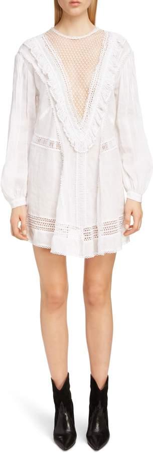 Long Sleeve Crochet Dress Shopstyle