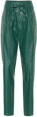 Isabel Marant Duard faux-leather slim pants