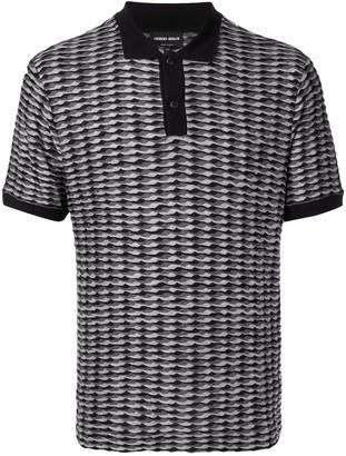 Giorgio Armani knitted polo shirt