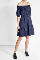 HUGO Dress with Bardot Neckline