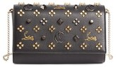 Christian Louboutin Paloma Empire Calfskin Clutch - Black