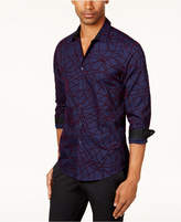 INC International Concepts Men's Flocked Shirt, Created for Macy's