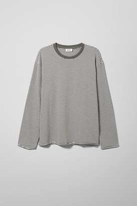 Weekday Per Striped Long Sleeve - Blue