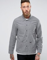 Lee Worker Overshirt Jacket Gray Melange