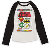 Licensed Tees Long Sleeve Justice League T-Shirt
