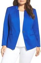 Vince Camuto Plus Size Women's One-Button Blazer