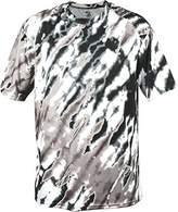 Badger Adult Tie Dri Tee 4182 -Silver Tie D XL