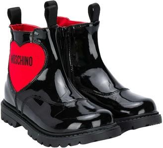 Moschino Black Boots