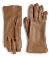Saks Fifth Avenue Collection Leather Gloves