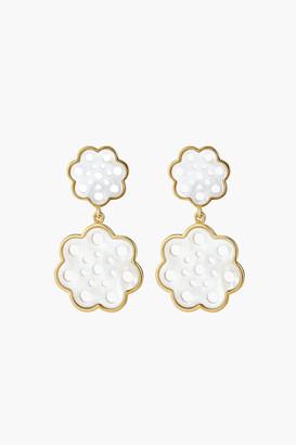 Asha Gardenia Drop Earrings