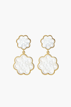 Asha Gardenia Drop Earrings