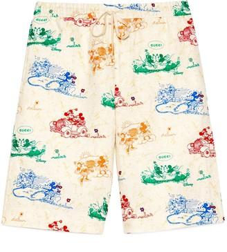 Gucci Disney x linen shorts