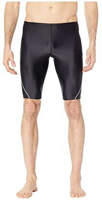 Speedo Relaunch Splice Jammer Black) Men's Swimwear