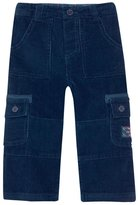 Jo-Jo JoJo Maman Bebe Cord Utility Trousers (Toddler/Kid) - Navy-4-5 Years