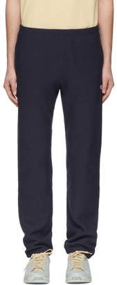 Champion Reverse Weave Navy Elastic Cuff Lounge Pants