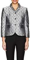 Thom Browne WOMEN'S SHOES- & BAGS-PATTERN DOWN-QUILTED SILK JACKET