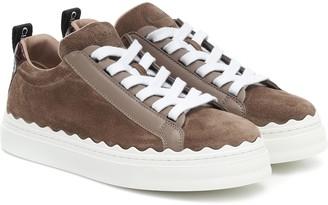 Chloé Lauren suede sneakers