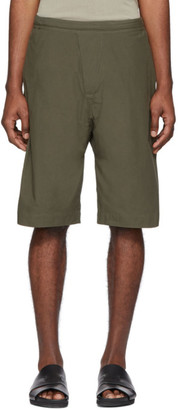 Jan-Jan Van Essche Green Organic Cotton Shorts
