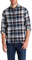 Howe Rag & Stone Plaid Long Sleeve Regular Fit Shirt